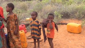 Affected by Drought in Somalia
